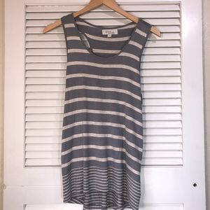 Olive and Oak striped tank top